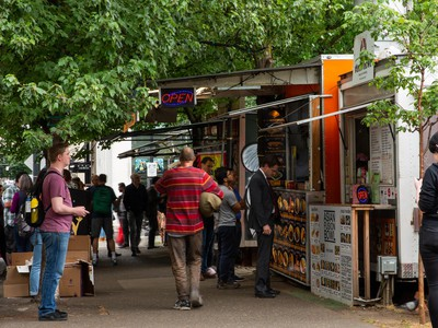 Where Will Portland's Alder Street Food Carts Go? City Looks To The North Park Blocks.
