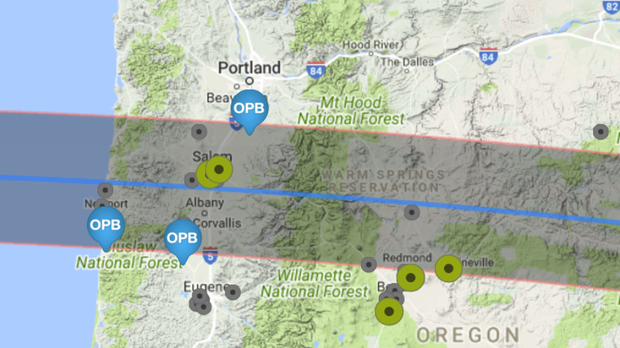 Watch Oregon React To The Total Solar Eclipse News Opb