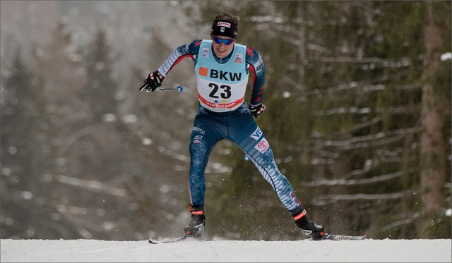 U.S. Olympic Team member Scott Patterson, 25, and older sister Caitlin, began skiing at an early age in north central Idaho before moving to Anchorage in 2005.