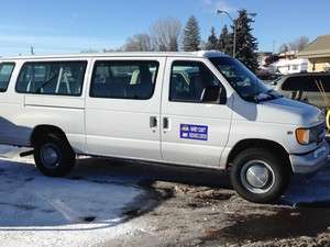 Police recovered two stolen refuge vehicles from a grocery store in Burns, Oregon.
