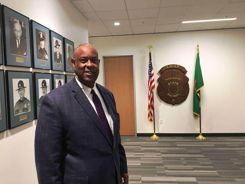 Chief John Batiste has led the Washington State Patrol since 2005. He joined the agency as a trooper in 1976.