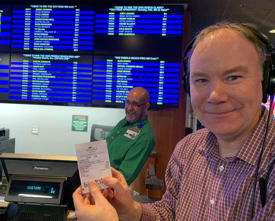 Reporter Tom Banse placed a practice bet on the Gonzaga Bulldogs to win the NCAA basketball championship.