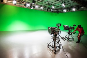 Producers use Open Signal's Cyclorama green screen for everything from music videos to mixed reality projects.