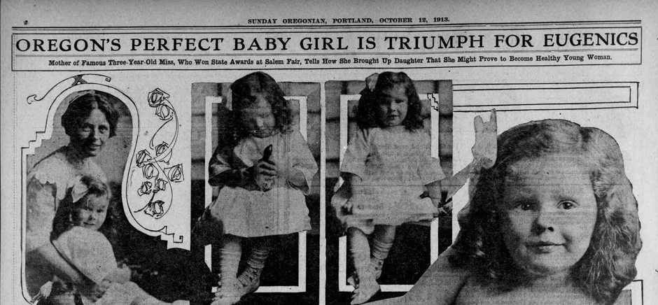 """The """"Best Baby"""" contests promoted eugenics at the Oregon State Fair in the early 1900s."""