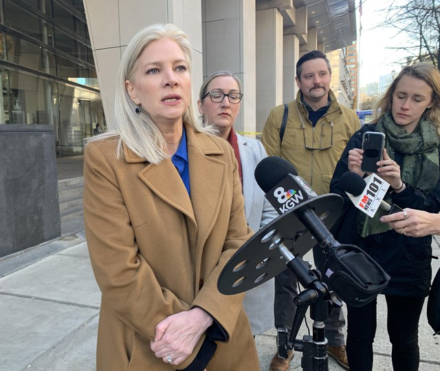 Jill Gibson is representing the plaintiffs for law firm Lynch Conger. She the new policy is both exceptionally strict— with tenants able to sue if landlords misstep— and exceptionally vague, with key phrases left undefined.