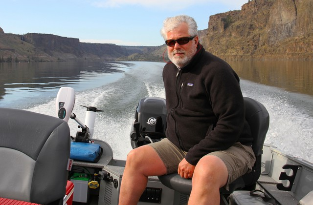 Conservationists Greg McMillan believes that Oregon's Department of Environmental Quality is being too lax with regulating Portland General Electric for water quality standards on the lower Deschutes.
