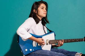 Musician Fabi Reyna started the guitar magazine She Shreds.