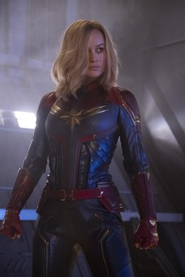 "Brie Larson in Marvel Studios' ""Captain Marvel."""