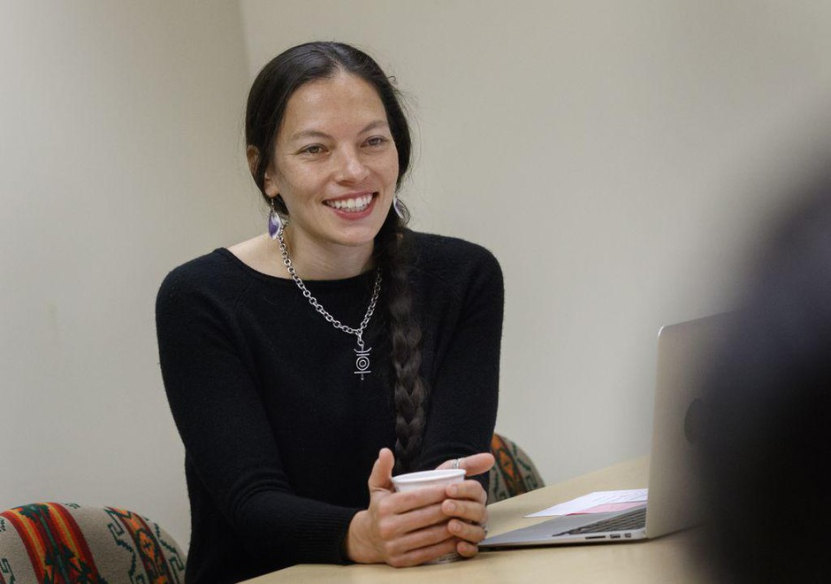 Amanda Bruegl studies HPV infection in Native American women. She recently receiveda prestigious fellowship to find out why Native Americans are more likely to getHPV.