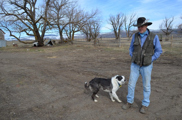 Sam Kayser is a rancher in Cle Elum, just east of the Cascades.