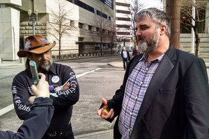 Oregon occupier Jason Patrick was found guilty of conspiracy but not guilty of carrying a firearm in a federal facility.