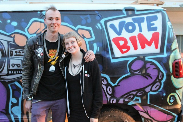Bim Ditson is the youngest of the candidates running to be Portland's next mayor.
