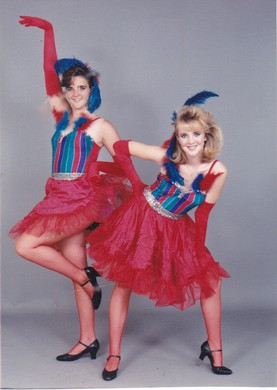 """Were jazz dance routines to radio hits and the """"The Lost Boys"""" soundtrack a foreshadowing of the comedy success to come for sisters Shelley McLendon and Wendi McLendon-Covey?"""