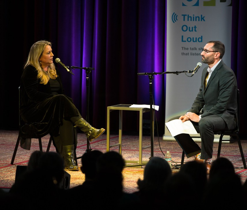 """Portland-based author, columnist and podcast host Cheryl Strayed speaks with """"Think Out Loud"""" host David Miller."""