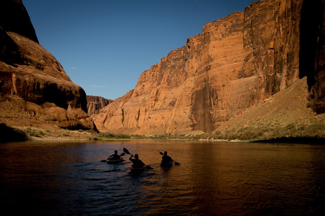 These modern-day kayakers followed a route from the past to make Voyagers Without Trace.