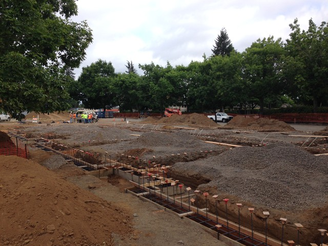 The Portland office of Veterans Affairs broke ground on new housing for homeless veterans at its Vancouver campus in July. It's slated to be completed June 2016.