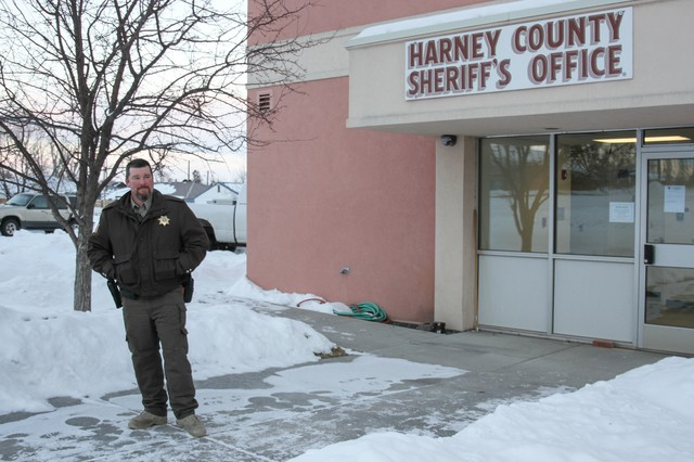 Harney County Sheriff David Ward has been under fire from self described militia groups around the country for refusing to create a sanctuary for the Hammonds to protect them from having to surrender.