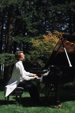 """Hunter Noack will take music by Debussy, Cage and other other composers into the woods and parks of Oregon with """"In A Landscape."""""""
