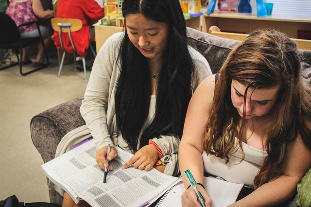 Alisha Zhao (left) is the founder and executive director of Kids First Project, a Portland-based nonprofit that brings programs and services to homeless youth.