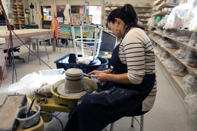 The Multnomah Arts Center is one of several public facilities where Portlanders get a hands-on experience of creating.