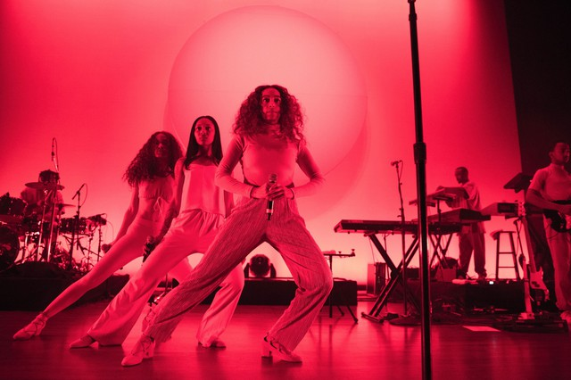 """Solange's live performance gave our feelings behind """"A Seat At The Table"""" direction, somewhere to escape the traps of our bodies and minds."""
