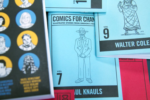 Comics for Change, vol. 7: Paul Knauls