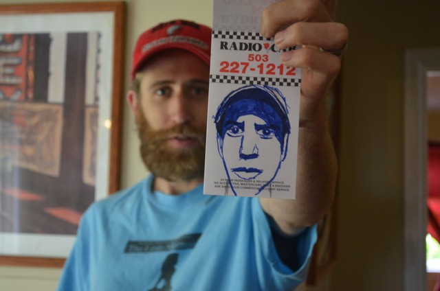 Noah Lambie's animated film While You Were Out is featured in the 2013 Oregon Lens series.