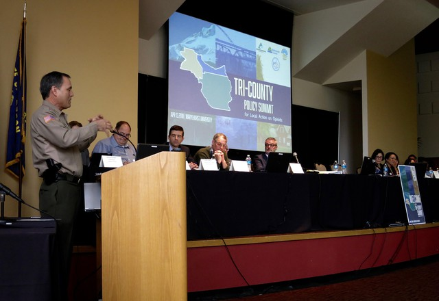 Oregon Counties Hold First Joint Summit On Opioid Addiction