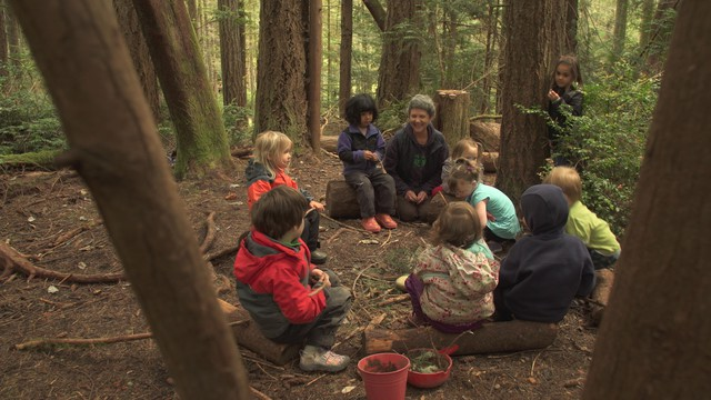 Erin Kenny started Cedarsong Nature School in 2006 in hopes of helping children develop lifelong bonds with the natural world.