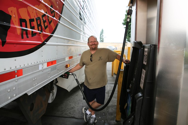 Northwest Truckers Strained By Gorge Wildfires And Highway Closures