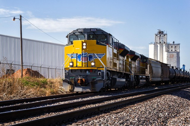 Since 2012 Union Pacific has been moving oil through Oregon on mixed freight trains. In late 2014, the railroad began moving several mile-long trains of crude oil per month through the Northwest.