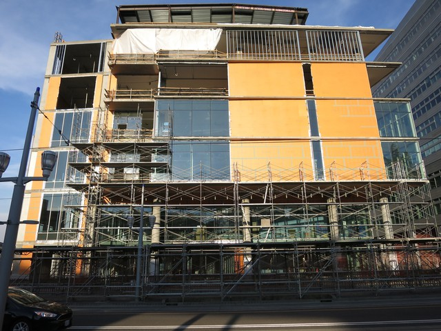 The Knight Cancer Institute is scheduled to be complete by next summer.