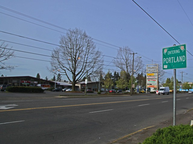 Rosewood lies along the boundary of Gresham and Portland.