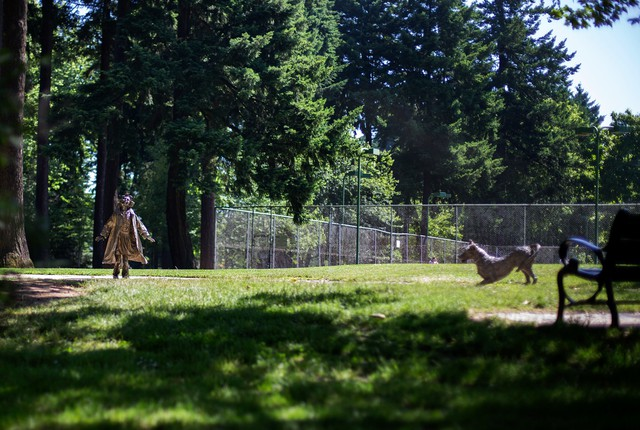 Statues of Ramona Quimby, Henry Huggins and his dog Ribsy honor Beverly Cleary's children's book characters, who lived on Portland's Klickitat Street.