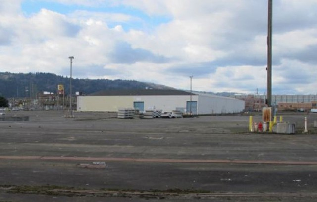The Terminal 1 warehouse in Portland could eventually be used as a space to house hundreds of the city's homeless.