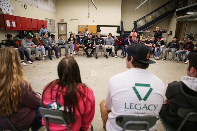 "40 students from Oregon City and Portland-area high schools gathered for a discussion about ""What Makes America Great (And Not Great) For You."""
