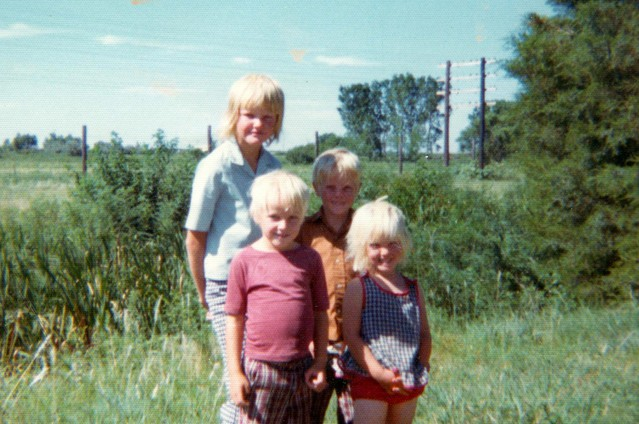 "Ruth Wariner (far right) with her siblings around 1977. Wariner is the author of ""The Sound of Gravel,"" a memoir about her childhood in a polygamist Mormon community in Mexico."