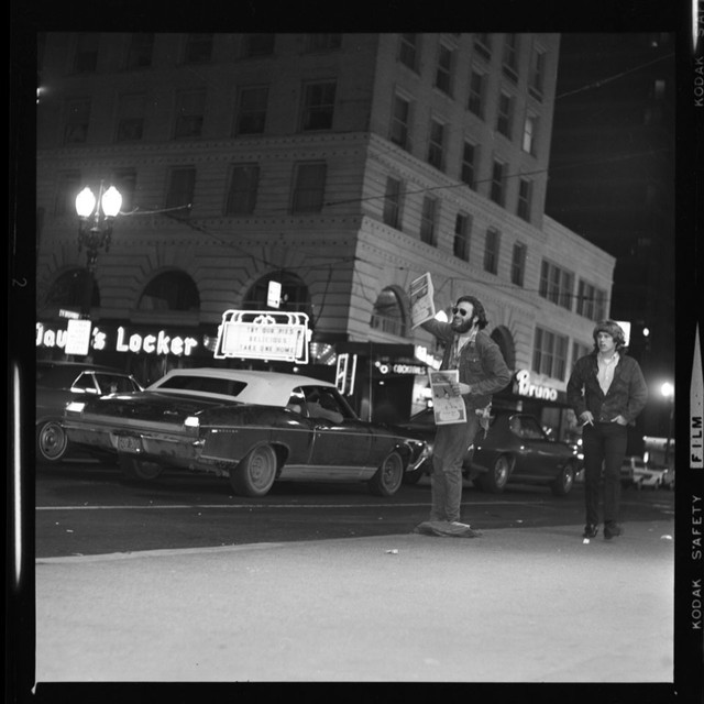 1969 surveillance photo of Lloyd Marbet (courtesy of Portland's Archives and Records Center)