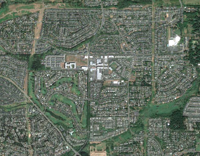 The Bethany subdivision in the Portland metropolitan area