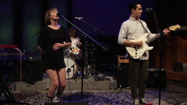Wild Ones performs at an opbmusic session in 2015