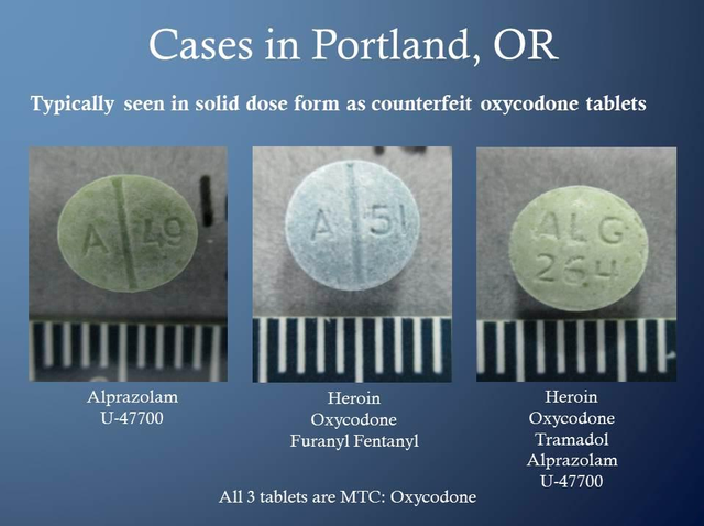 Portland authorities are warning people not to buy prescriptions off the black market. They say black market counterfeit pills often contain other potent drugs that can cause overdose and even death.