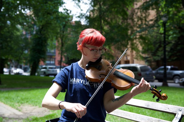 Amy Hakanson was pursuing a degree in music therapy at Marylhurst University, but withdrew before its closure announcement in spring 2018.