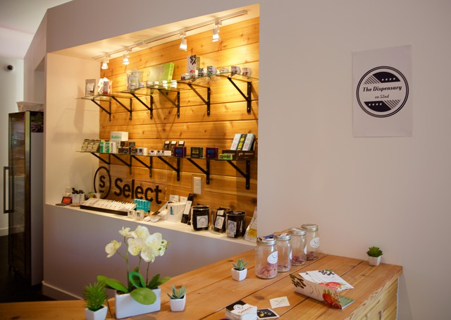 Marijuana stores like The Dispensary on 52nd would like to have a cafe on site where people could consume cannabis.