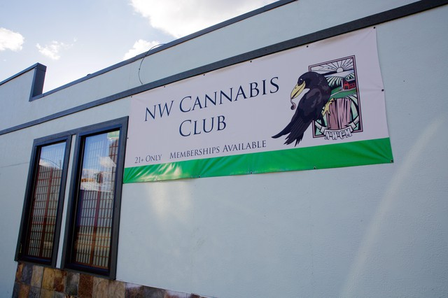 There is already a place where people get together to smoke cannabis. It's called the NW Cannabis Club and it's in southeast Portland. Inside, it's like an old-school bar. Customers light up different shaped glass bongs. There's music and a thick fug of smoke. Customers have to be over 21 and pay $20 to become a lifetime member. They have to bring their own cannabis and every time they visit, there's a $5 fee.