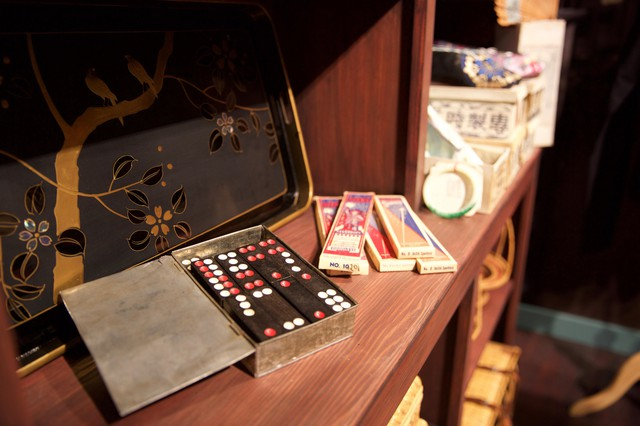 The museum has hundreds of Chinese American artifacts, many donated by local families.