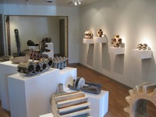 Eutectic Gallery: Contemporary Ceramics, curated by Jeffrey Thomas,showcases local and international artists.