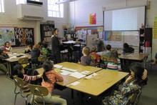 An ACCESS program classroom in March, 2013.