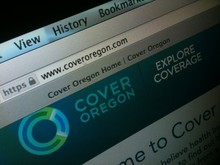 Cover Oregon website.