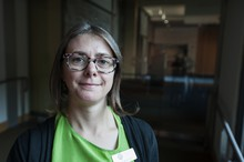 Elizabeth Canty-Jones, outreach manager for the Oregon Historical Society and editor of the Oregon Historical Quarterly