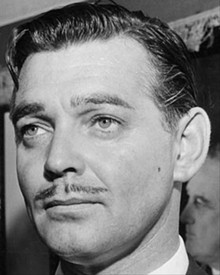 William Clark Gable during his early acting career.